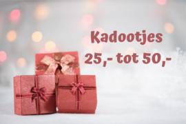 Sint / Kerst kadootjes 25,- / 50,-