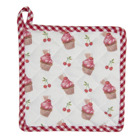 Pannenlap Cherry Cupcakes