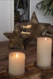 Ijzeren decoratie ster (L)