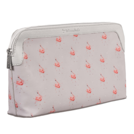 Large cosmetic bag Flamingo Pink Lady