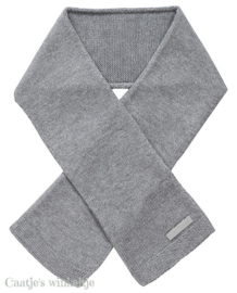 Sjaal grey naturel knit