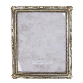 Fotolijst antiek look oud zilverkleur 20*25