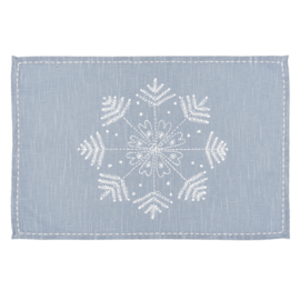 Placemats winter set van 6