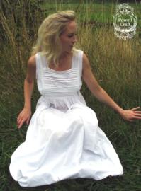 Romantisch nachthemd wit Lorna