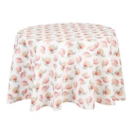 Rond tafelkleed met appels 170 cm