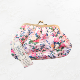Vintage cosmetic bag roosjes