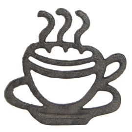 Pannenonderzetter kopje koffie