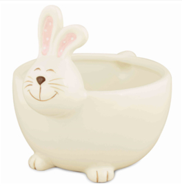 Bowl Bunny wit/roze