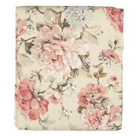 Clayre & Eef bedsprei Multi Flowers 240*260
