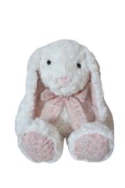 Pluche konijn met strik 40cm