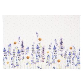 Stoffen placemats Lavender Fields (6)