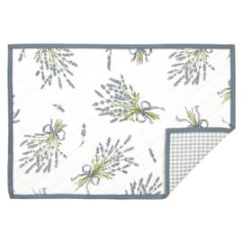 Stoffen placemats set van 6 Lavendel