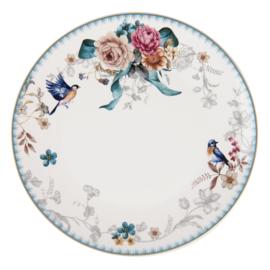 Diner bord Pioen Roos 26*2