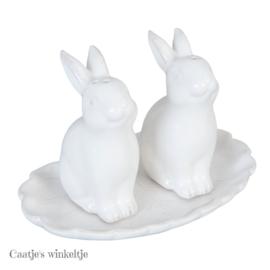 Peper en zoutstel konijntjes