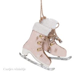 Hanger schaatsen roze M