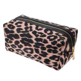 Make-up tas panter roze