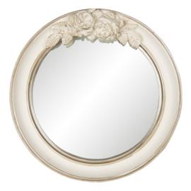 Ronde spiegel met rozen 25*4