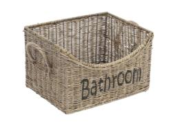Rotan mand Bathroom 32*25