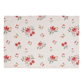 Stoffen placemats (6) Little Rose Collection