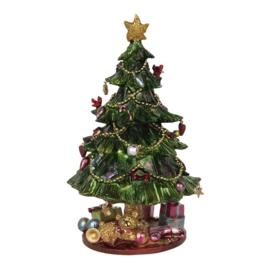 Muziekdoos kerstboom en kadootjes