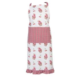 Keukenschort Cherry Cupcakes model 1