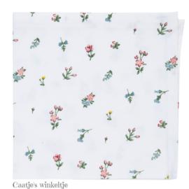 Stoffen servetten bloemetjes (6)