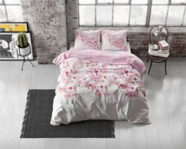 Flanellen dekbedovertrek Sweet Flowers Pink 240*220