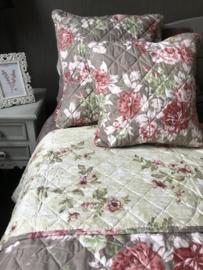 Clayre & Eef bedsprei Vintage Roses 240*260