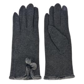 Set handschoenen grijs