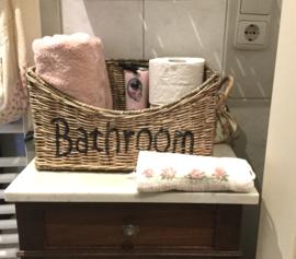 Rotan mand Bathroom 35*25