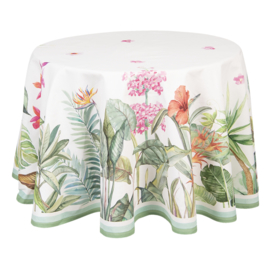 Rond tafelkleed Botanisch 170 cm