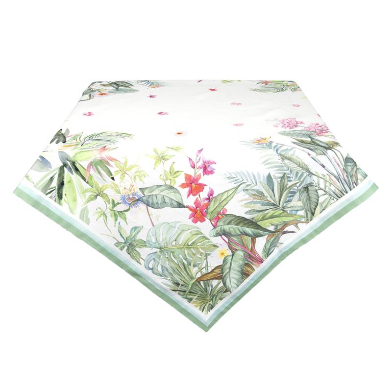 Clayre en Eef tafelkleed Botanisch 100*100