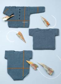 Katia Concept Cotton-Yak Baby Vest, Trui of Rompertje