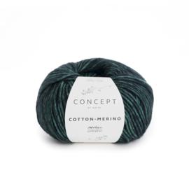 Katia Concept - Cotton-Merino 056 Mintgroen-Zwart