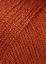LANG Yarns - Omega - 0075 Donker Oranje