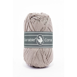 Durable Coral Katoen - 340 Taupe
