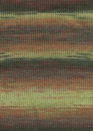 LANG Yarns - Milton 0052 Groen - Bruin - Geel