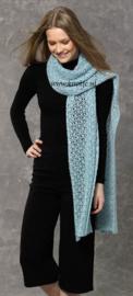 Maandag 28-11-2016 Katia Concept Silky Lace gehaakte Stola