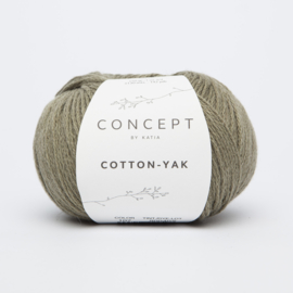 Katia Concept - Cotton-Yak - 107 Bleekgroen