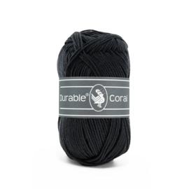 Durable Coral Katoen - 324 Graphite