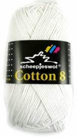 Cotton 8 - 502 Wit