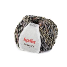 Katia Inca Ice - 308 Groen-Bleekrood-Oranje