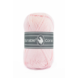 Durable Coral Katoen - 203 Light Pink