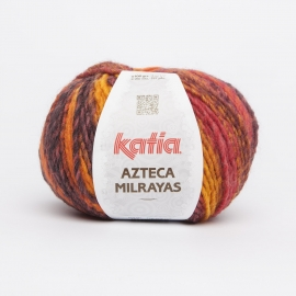 Katia Azteca Milrayas - 707 Rood-Oker-Oranje-Bruin