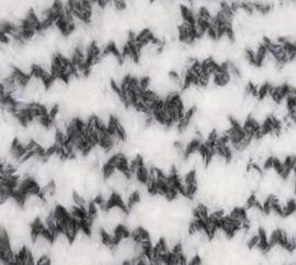 Katia Polar Animal Print - 207 Ecru-Donker grijs