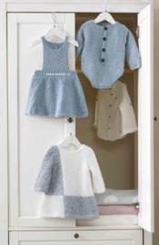 Katia Velvet Fine Babyjurkje en Rompertje en Duende jurkje
