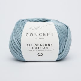 Katia Concept - All Seasons Cotton - 08 Licht blauw