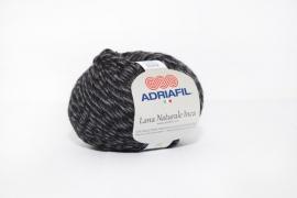 Adriafil Lana Naturale Inca - 75 Moulinet Anthracite Grey