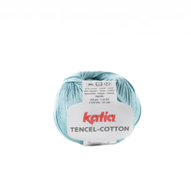Katia Tencel Cotton - 29 Waterblauw