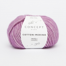 Katia Concept - Cotton-Merino 117 Medium Paars